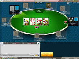 table PMU poker