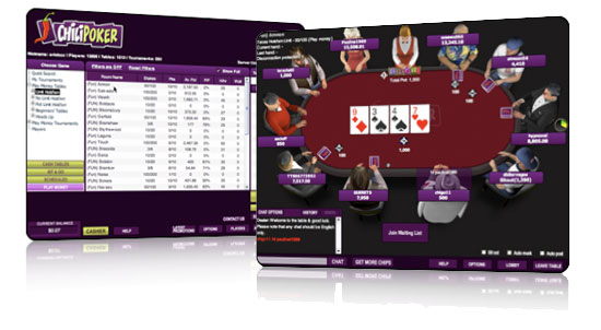Chilipoker nouvelle interface